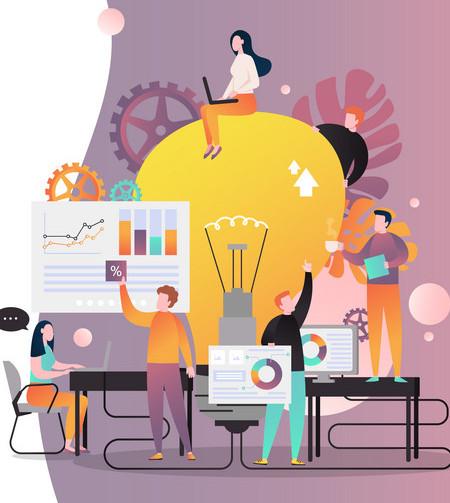 Transformamos sua ideia em site administrativo e funcional